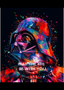 MAY THE 4TH  BE WITH YOU - Personalised Poster A4 size