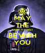 MAY THE THIRTY-FIRST BE WITH YOU - Personalised Poster A4 size