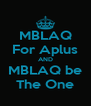 MBLAQ For Aplus AND MBLAQ be The One - Personalised Poster A4 size