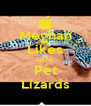 Meghan  Likes Zachs  Pet Lizards - Personalised Poster A4 size