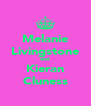 Melanie Livingstone and Kieran Cluness - Personalised Poster A4 size