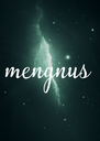 mengnus - Personalised Poster A4 size