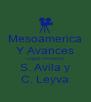 Mesoamerica Y Avances Logos Proctions S. Avila y C. Leyva - Personalised Poster A4 size