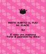 METTI SUBITO IL TUO MI PIACE SU E' nata una mamma -Torte di pannolini by Elisa- - Personalised Poster A4 size