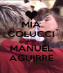 MIA COLUCCI AND MANUEL AGUIRRE - Personalised Poster A4 size
