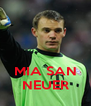 MIA SAN NEUER - Personalised Poster A4 size
