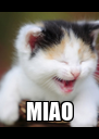 MIAO - Personalised Poster A4 size