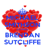MICHAEL SMITHSON LOVES BRENDAN SUTCLIFFE - Personalised Poster A4 size