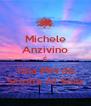 Michele Anzivino É Una Merda Sciolta Al Sole - Personalised Poster A4 size