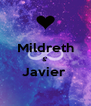 Mildreth &' Javier   - Personalised Poster A4 size