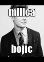 milica bojic - Personalised Poster A4 size