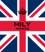 MILY MORÓN   - Personalised Poster A4 size