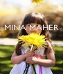 MINA MAHER   7  - Personalised Poster A4 size