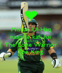 Misbah Ul-Haq naam e kafi hai Captain Cool The Lone Warrior The King - Personalised Poster A4 size