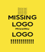 MISSING LOGO MISSING LOGO !!!!!!!!!!!! - Personalised Poster A4 size