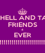 MITCHELL AND TASHA FRIENDS 4 EVER !!!!!!!!!!!!!!!!!!!!!!! - Personalised Poster A4 size