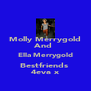 Molly Merrygold And  Ella Merrygold Bestfriends  4eva x - Personalised Poster A4 size
