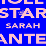 MOLLY STAR SARAH CHANTELLE BEST FRIENDS!! - Personalised Poster A4 size