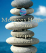 Molyvos Home Rooms Lesvos, Greece Happy Easter! - Personalised Poster A4 size