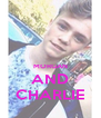 MORGAN AND CHARLIE - Personalised Poster A4 size