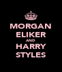 MORGAN ELIKER AND HARRY STYLES - Personalised Poster A4 size
