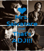 Mrs. Salvatore yeah That's ADJI!! - Personalised Poster A4 size