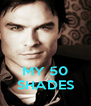 MY 50 SHADES - Personalised Poster A4 size