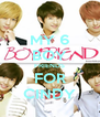 MY 6 BOY FRIENDS FOR CINDY - Personalised Poster A4 size