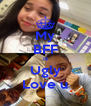 My BFF Is Ugly Love u - Personalised Poster A4 size