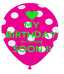MY BIRTHDAY is coming SOON !!  - Personalised Poster A4 size