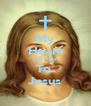 My Heart Belongs To  Jesus - Personalised Poster A4 size