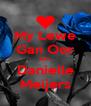 My Lewe Gan Oor Jou.. Danielle Meijers - Personalised Poster A4 size