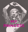 MY PRINCESS - Personalised Poster A4 size