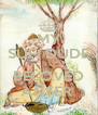 MY SUFI DUDE IS BELOVED ANSER  - Personalised Poster A4 size