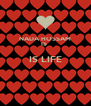 NADA HOSSAM IS  IS LIFE   - Personalised Poster A4 size