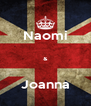 Naomi  &  Joanna - Personalised Poster A4 size