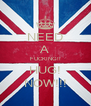 NEED A FUCKING!! HUG! NOW!!! - Personalised Poster A4 size
