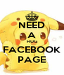 NEED A HUG FACEBOOK PAGE - Personalised Poster A4 size