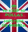 NI KEEP NI POLLAS  HIPSTERS DE MIERDA - Personalised Poster A4 size