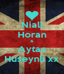 Niall Horan & Aytac Huseynli xx - Personalised Poster A4 size
