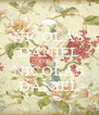 NICOLAS DANIEL COMO NICOLAS DANIEL - Personalised Poster A4 size