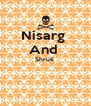 Nisarg  And  Shruti    - Personalised Poster A4 size