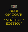 NMR ON TOUR 2012 *NO-REVS* EDITION - Personalised Poster A4 size