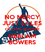 NO MERCY JUST SALES QUOTA BUSTER NEELAM BOWERS - Personalised Poster A4 size