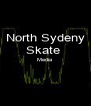 North Sydeny Skate  Media   - Personalised Poster A4 size