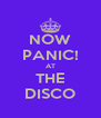 NOW PANIC! AT THE DISCO - Personalised Poster A4 size