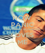 NOW  PANIC CRISTIANO RONALDO LOVES ME - Personalised Poster A4 size