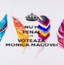 NU FI PENAL CI VOTEAZĂ MONICA MACOVEI - Personalised Poster A4 size