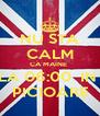 NU STA CALM CA MAINE  LA 06:00  IN  PICIOARE - Personalised Poster A4 size