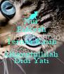 Nur Fidiyah Terima Kasih Alhamdullilah  Didi Yati - Personalised Poster A4 size